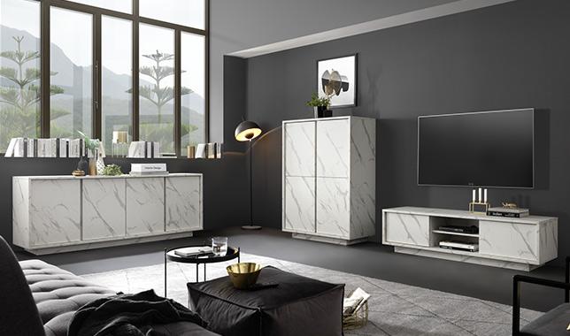 Ice marbre blanc