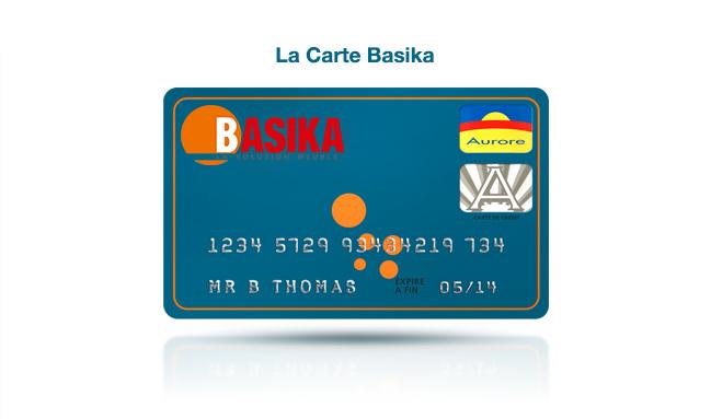 La carte de financement Basika