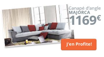 Canapé d'angle à droite contemporain