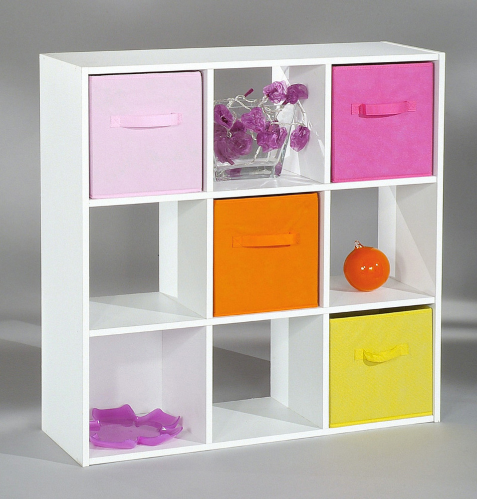 Meuble rangement enfant gara on for Meuble 9 cases ikea