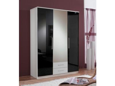 Armoire 3 portes +2 tiroirs