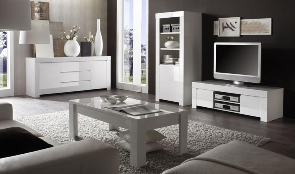 Meuble Tv Amalfi / Turini Blanc