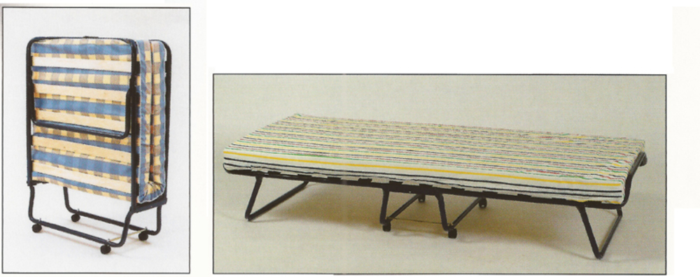 Lit pliant pl 80 for Lit meuble pliant 1 personne
