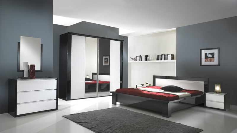 commode 3 tiroirs milano. Black Bedroom Furniture Sets. Home Design Ideas