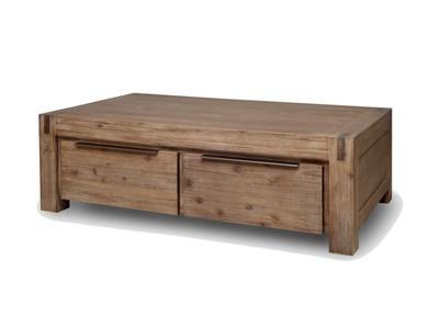 Table basse 4 tiroirs Hamburg