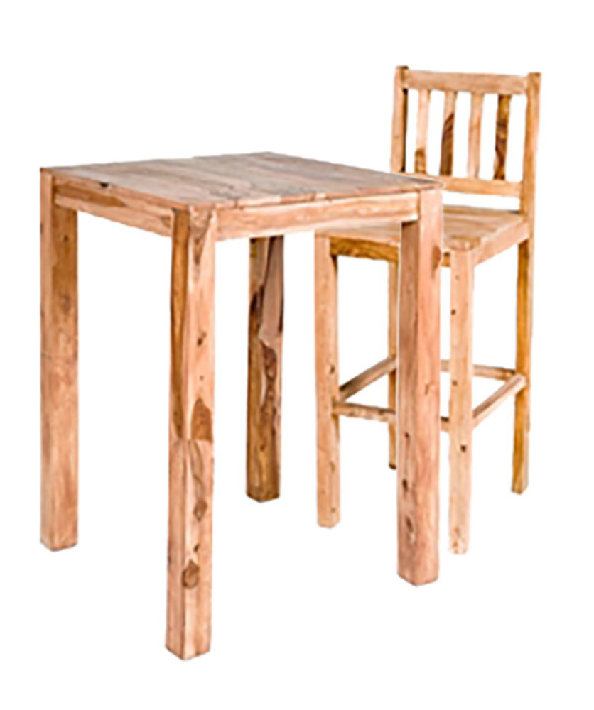 tabouret de bar en bois amsterdam naturel. Black Bedroom Furniture Sets. Home Design Ideas