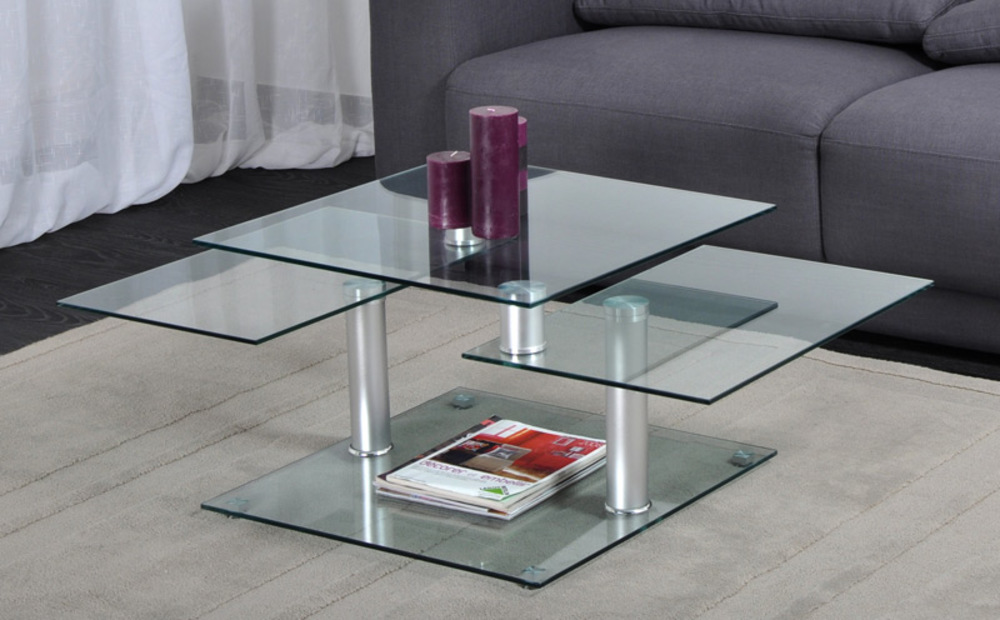 Table Basse Dino 3 Plateaux