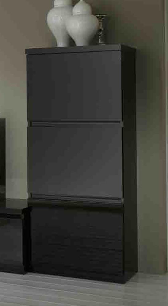 colonne roma laqu noir. Black Bedroom Furniture Sets. Home Design Ideas
