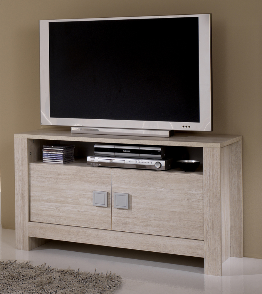 meuble tv pisa chene blanchi soho blanchi. Black Bedroom Furniture Sets. Home Design Ideas