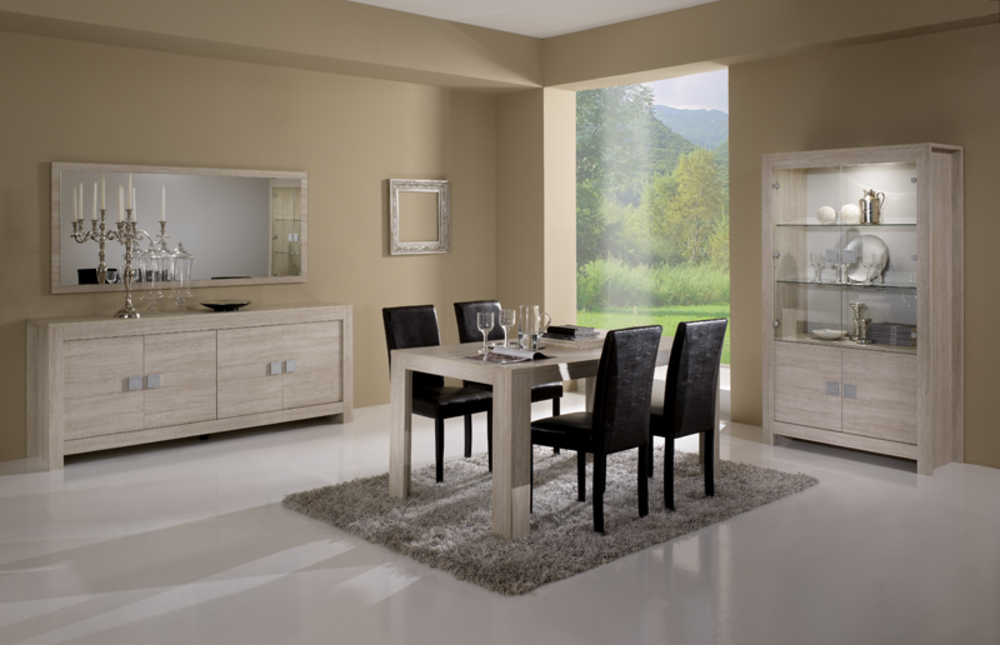 meuble tv pisa chene blanchi soho. Black Bedroom Furniture Sets. Home Design Ideas