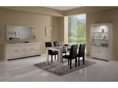 Table basse Pisa chene blanchi (soho)