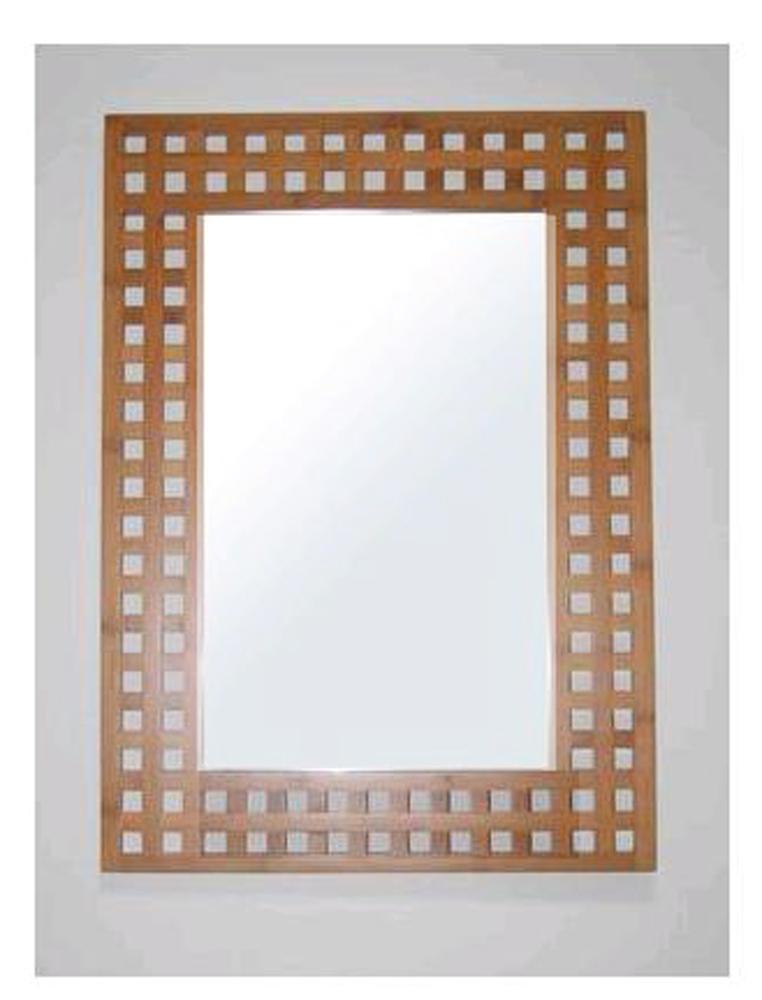 Miroir sdb bambou for Meubles salle de bain bambou