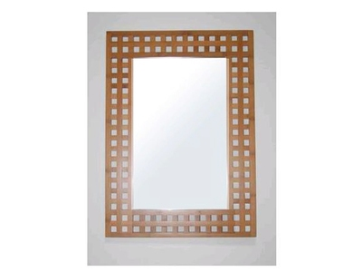Miroir sdb Bambou