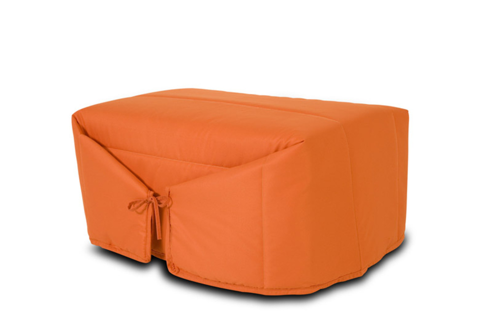 pouf lit ibiza orange. Black Bedroom Furniture Sets. Home Design Ideas