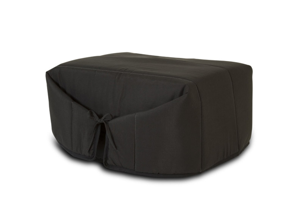 pouf lit ibiza noir. Black Bedroom Furniture Sets. Home Design Ideas