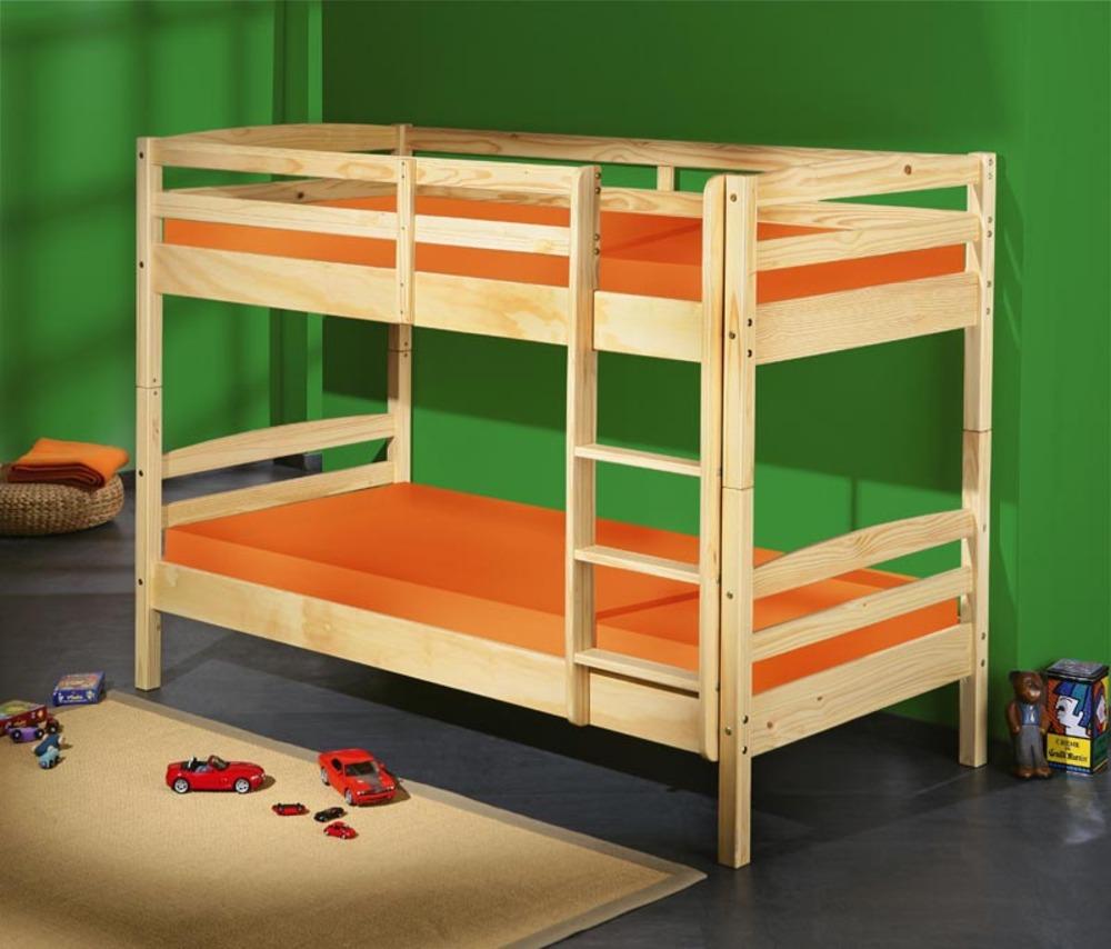 lit superpose salvador naturel. Black Bedroom Furniture Sets. Home Design Ideas