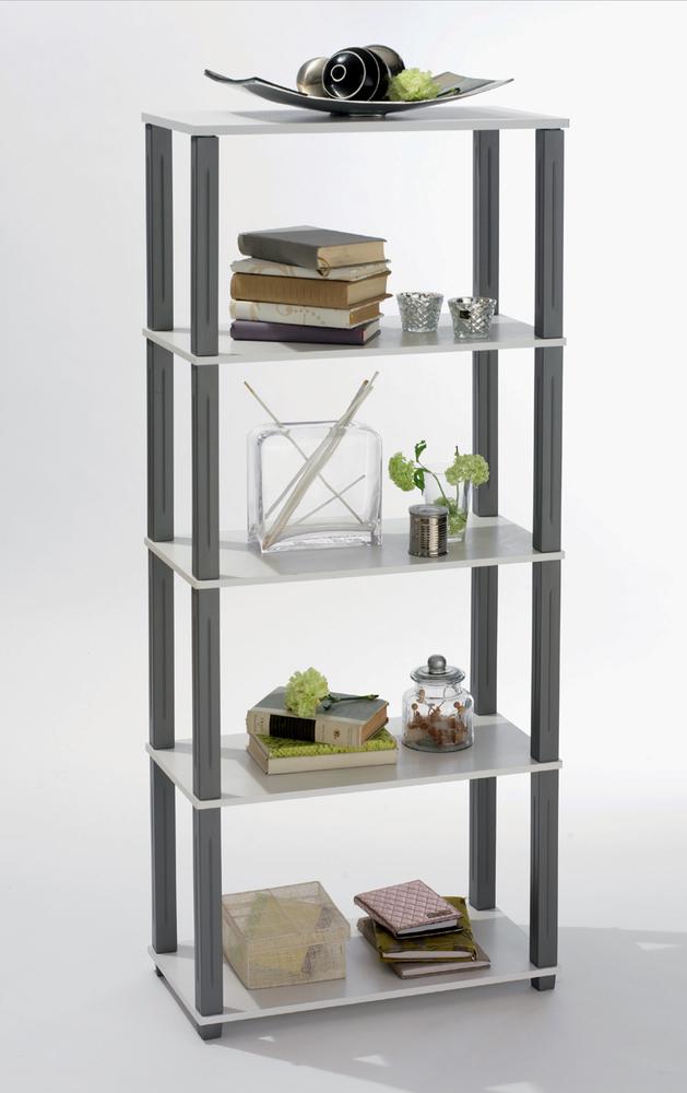 etagere polytub blanc. Black Bedroom Furniture Sets. Home Design Ideas