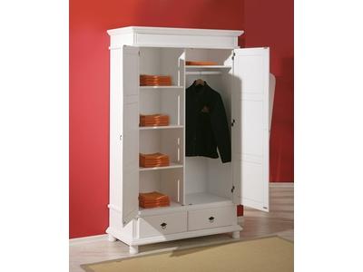 Armoire 2 portes 2 tiroirs Danz