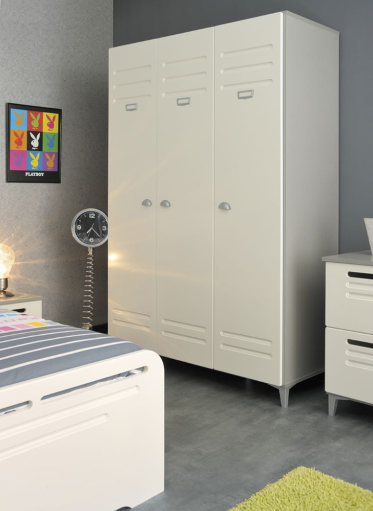 armoire 3 portes leonardo. Black Bedroom Furniture Sets. Home Design Ideas