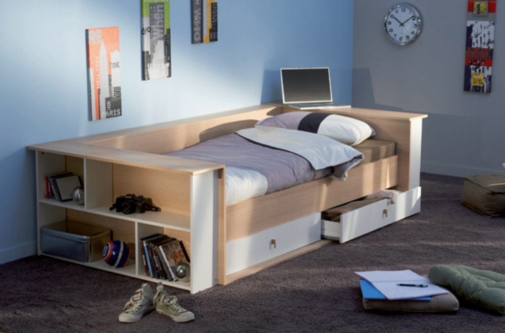 banquette chambre enfant maison design. Black Bedroom Furniture Sets. Home Design Ideas
