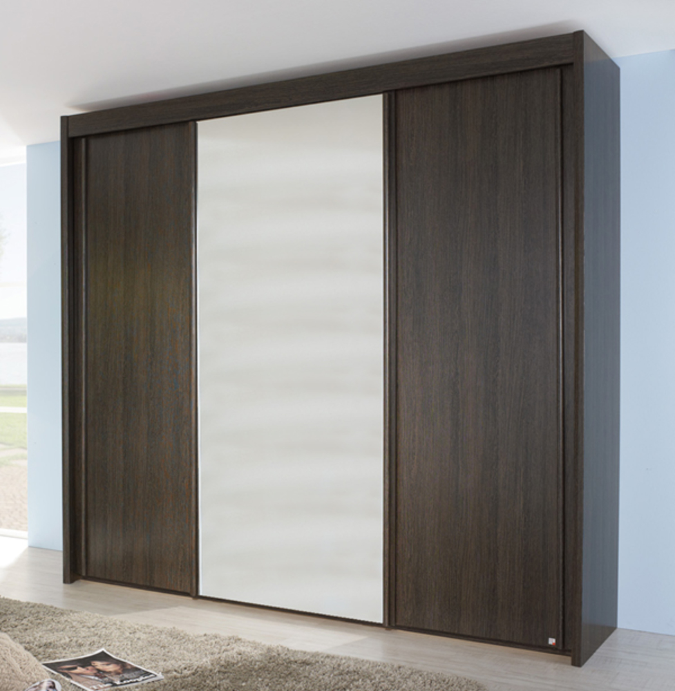 armoire 3 portes imperial wengue a7946. Black Bedroom Furniture Sets. Home Design Ideas