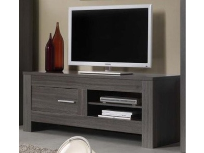 meuble tv portofino chene gris. Black Bedroom Furniture Sets. Home Design Ideas