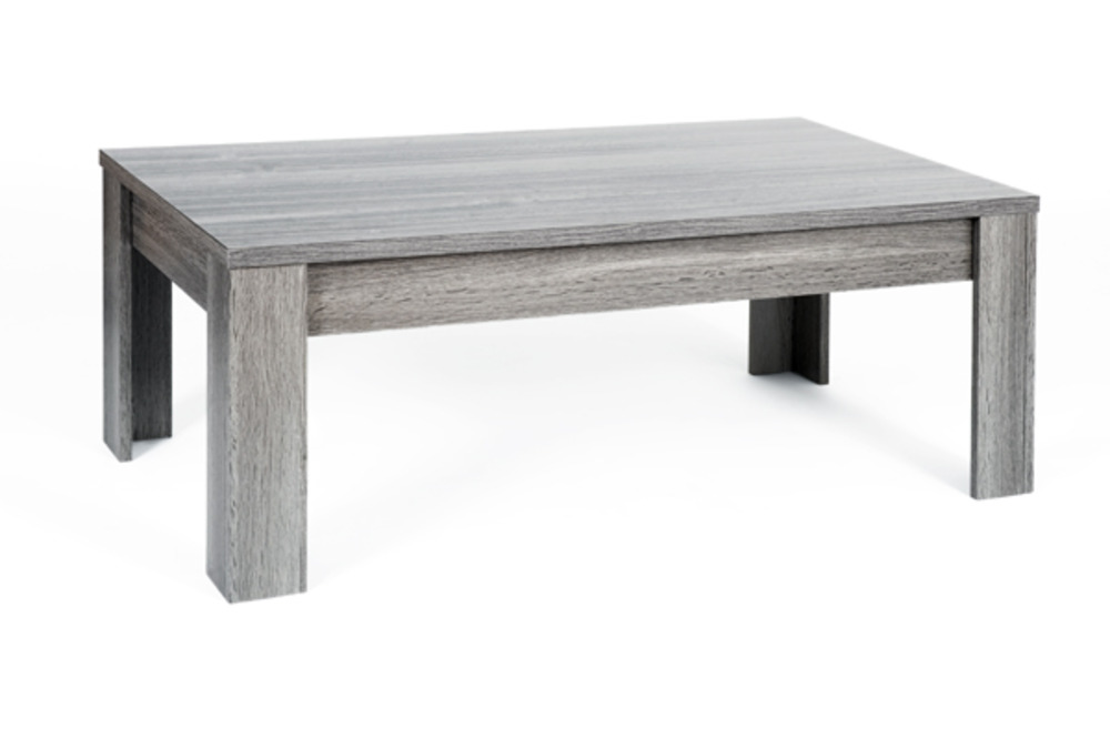 Table basse portofino chene gris - Table basse chene et verre ...
