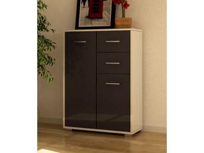 meuble 2 portes 2 tiroirs cosmo