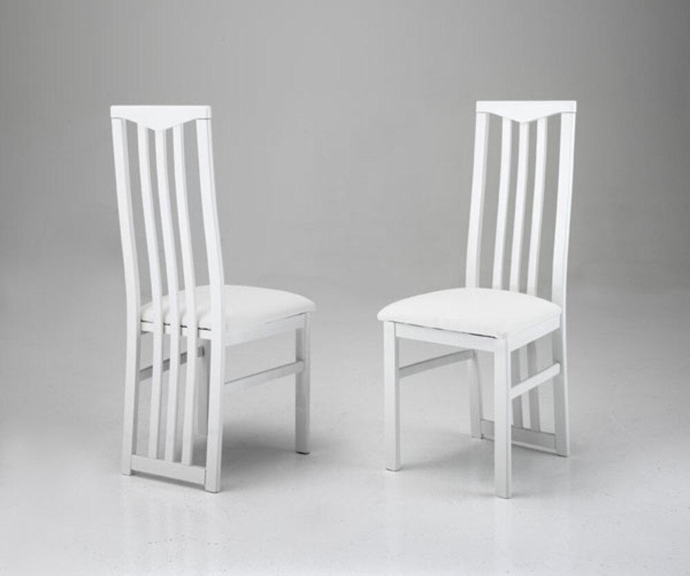 Chaise sejour carla blanc for Chaise sejour moderne