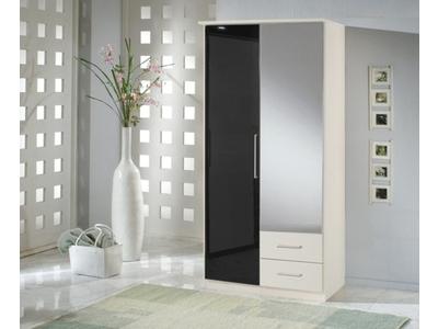 Armoire 2 portes dont 1 miroir+2 tiroirs Greven
