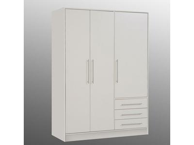 Armoire 3 portes 3 tiroirs Jupiter