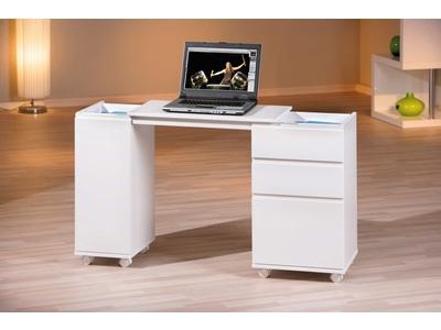 Bureau 1 porte 3 tiroirs Laptop