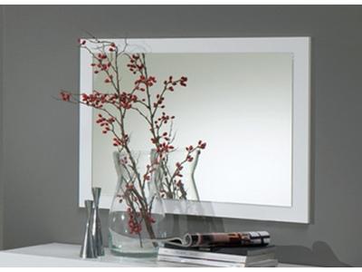 Miroir Gloria noir et blanc