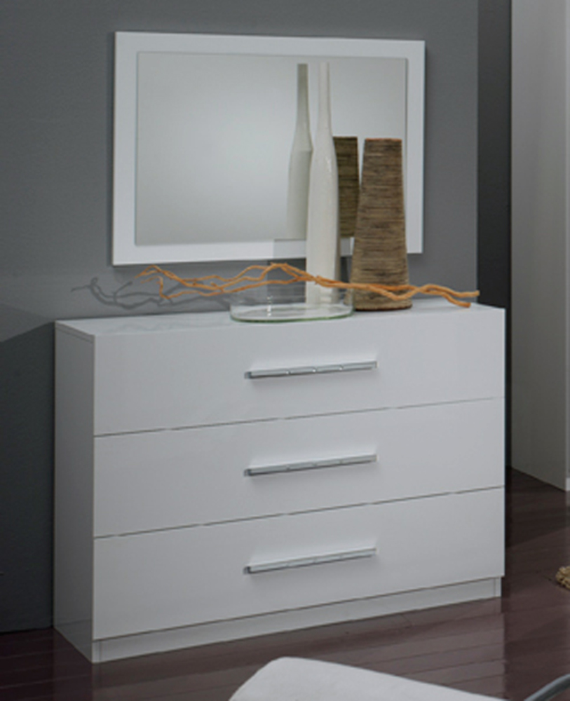 Commode 3 tiroirs gloria blanc - Commode industrielle pas cher ...