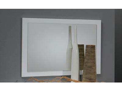 Miroir Gloria laquée blanc