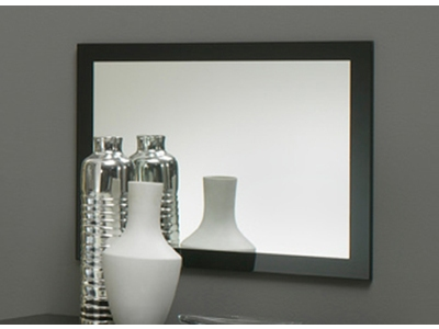 Miroir Gloria noir