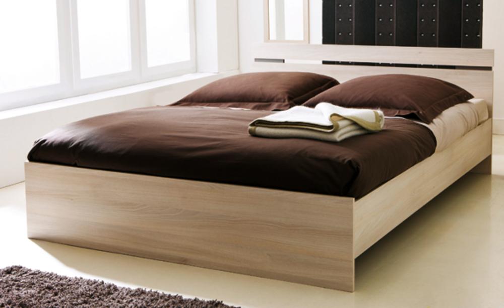 Francesca chambres lits adultes lit acacia basika le hard for Meubles lits adultes