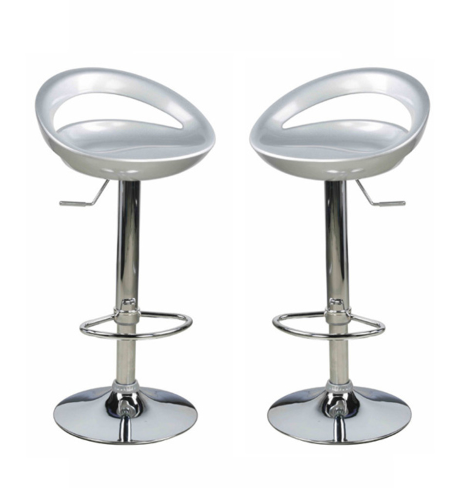 lot 2 tabourets de bar champ - Lot De 2 Tabouret De Bar