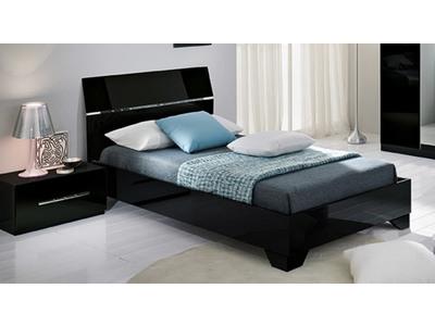 Mobilier pour chambre d enfant meubles pour fille et gar on - Chambre avec lit noir ...