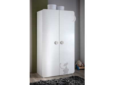Armoire 2 portes Kitty