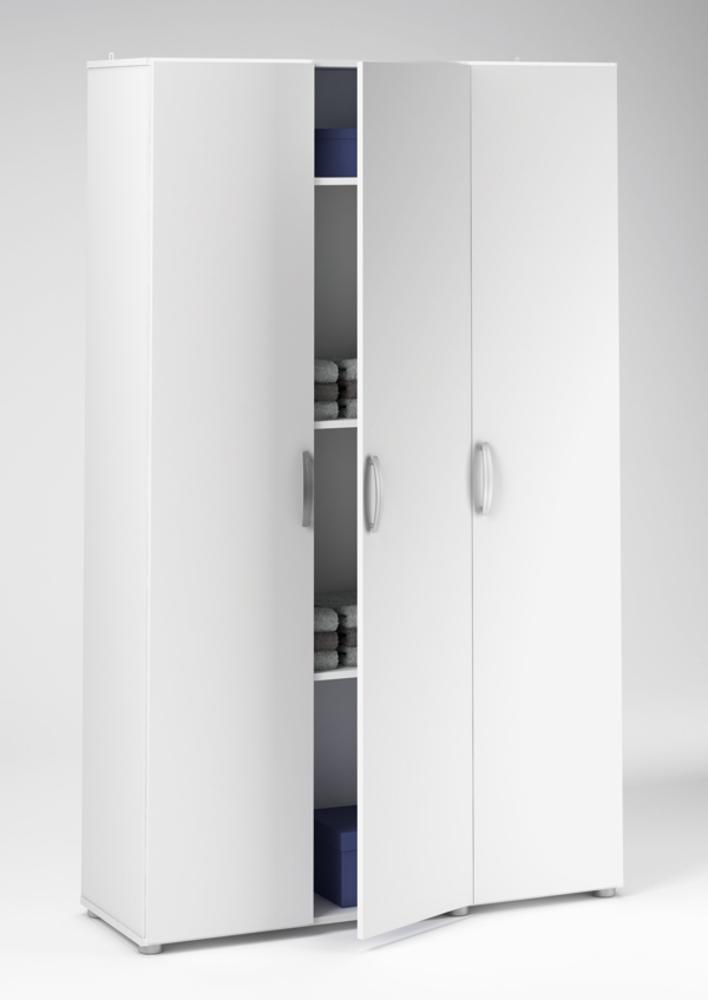 Armoire 3 Portes Cobi Blanc