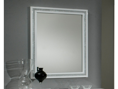 Miroir Krystel laque blanc