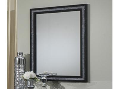 Miroir Krystel laque bicolore