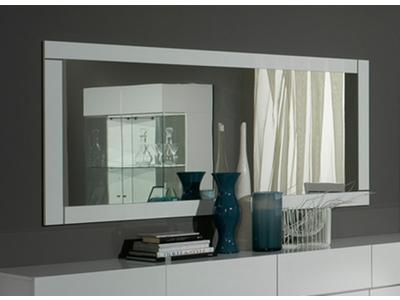 Miroir Lux laque blanc