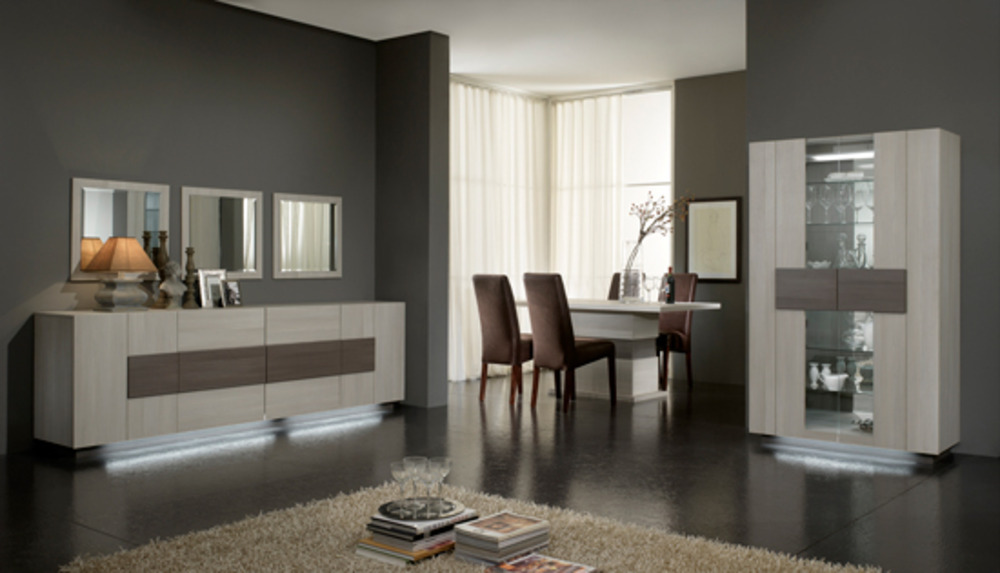 vitrine 2 portes master blanchi. Black Bedroom Furniture Sets. Home Design Ideas