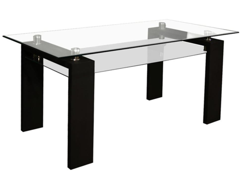 Table de repas gloria noir for Table de repas