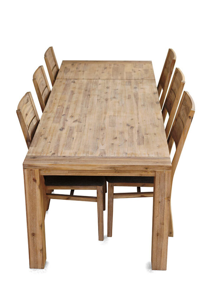 Table repas allonge hamburg l 140 x h 78 x p 100 for Table repas