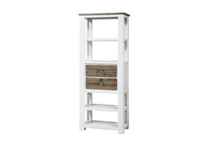 Colonne 2 tiroirs White horse