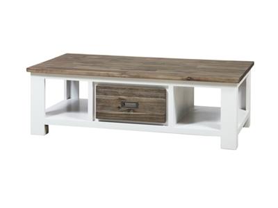Table basse 2 tiroirs