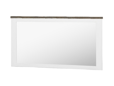 Miroir rectangulaire White horse